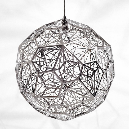 Etch Light Web Stainless Steel Pendant Lamp