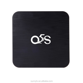 Amlogic s912 android tv box supplier openelec android 6.0 system KODI 16.1 preloaded s912 2gb ram 8gb rom marshmallow tv box Q5S
