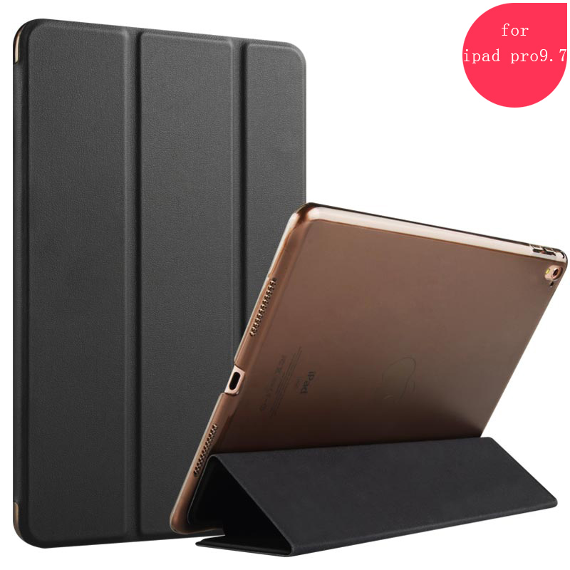 2017 New PU Leather Folio Tablet PC Case for iPad Pro With Stand for ipad pro 9.7 Case