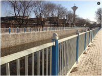 Flame-resistant FRP GRP garden fence