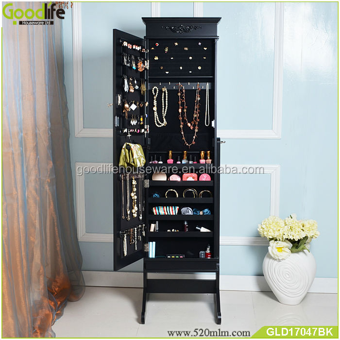 Stylish europe style bedroom wooden dressing cabinet