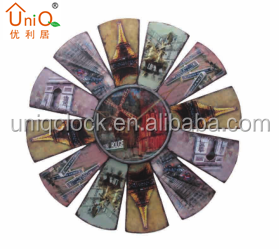 New Arrival Wall Clock Different Shape&Home Decorative Promotional metal Wall Clock