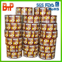 scrap plastic film roll/roll film for coffee/chocolate