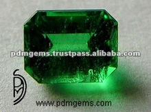 Faceted Emerald Octagon Wholesale Loose Gemstone For Earrings USA Faceted 13x18 Emerald Octagon