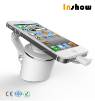 Retail store mobile phone loss prevention, mobile phone security display holder