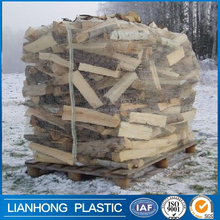 Factory price top design pp jumbo bag for wood/firewood packing,ventilated firewood bulk bag 1 ton 1.5 ton, hot sale pp big bag