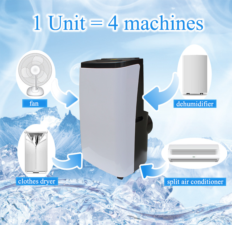 OEM/ODM 9500 btu mini portable air conditioner