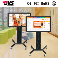 Best price LED TV 32 Inch All In One thin client capacitive touch shopping Kiosk