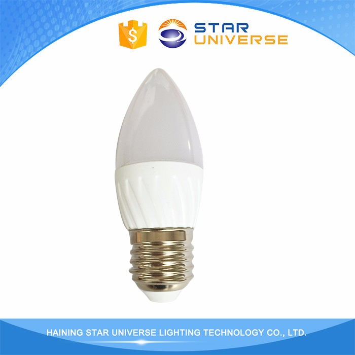 Alibaba SMD2835 180 Degrees Beam Angle E27 Led Candle Bulbs 3W