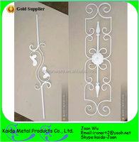 Classic Painted Indoor Iron Balusters For Sale
