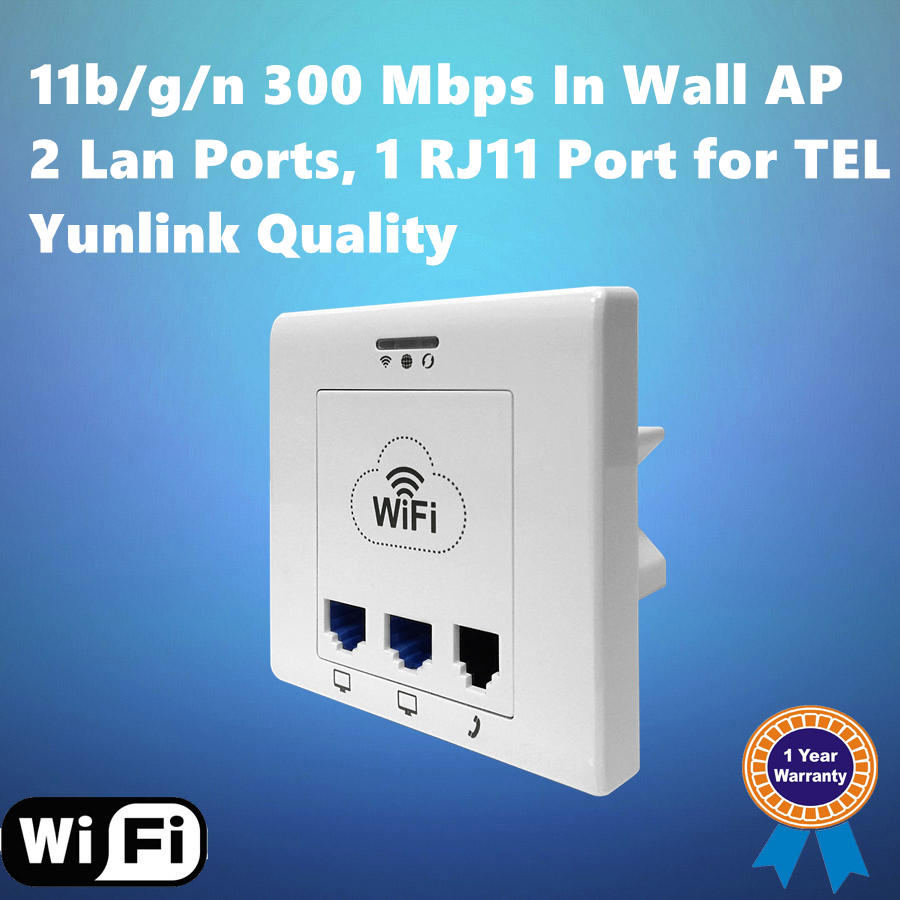 Factory OEM 192.268.1.1wireless access point router 11b/g/n 300Mbps Wall Mount WIFI Access Point