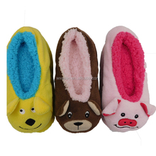 animal design cute and warm baby slippers