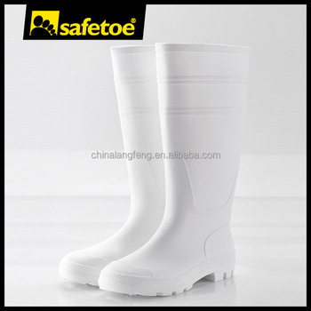 Lady gum boot,safety gumboot white,rain boots wellies W-6036W
