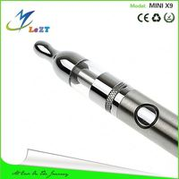 lezt Assorted color trendy hot sell e cigarette mini x9