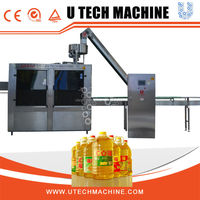 Cooking Oil Filling Productuion Line for Pet Bottle