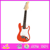 Wholesale top quality best wooden toy guitar for baby early contact music W07H010