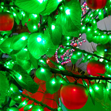 apple shaped light,waterproof led tree light