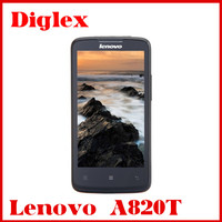 Lenovo A820T mobile phone China cheap 4.5 inch Android4.1 smart phone Dual card Dual mode Quad core 8MP camera