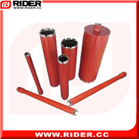 black diamond steel core drill bit for reinforced concrete
