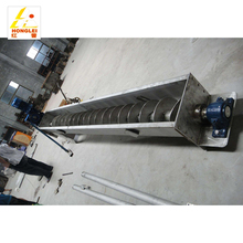 Factory price screw auger conveyor screw feeder conveyor stainless steel