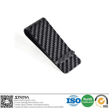 2016 new style 70*22*13 mm Carbon Fiber Business Card holder / Money Clip