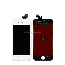 AAA LCD Screen Display Digitizer Assembly For iPhone 5 5G LCD Display Black/White All Parts Free Shipping