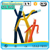 Cheap advertising mini desktop inflatable air dancer/sky dancer,mini inflatable air tube man
