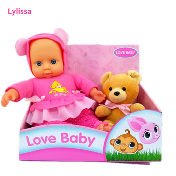 Top Selling 2019 Design New Born 11 Inch Soft Body Doll with Accessories