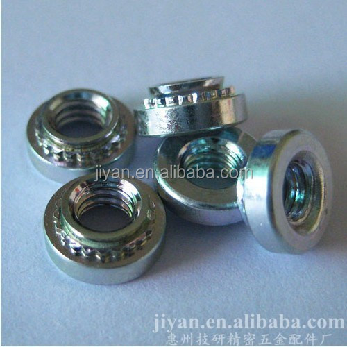 extrusion riveting nut
