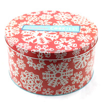 retro style Kelloggs round cereal tin box ,storage container for cookie and tea and dry food