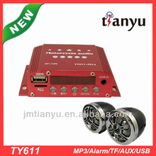 Full function Jiangmen professional manufacturer remote engine start & cut motorcycle alarm system