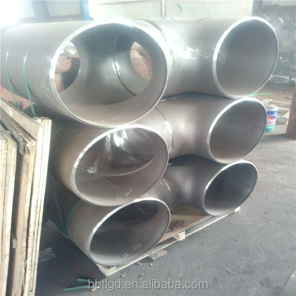 carbon steel pipe fittings sch40 sch 80 tee/equal carbon steel tee/seamless reducing tee