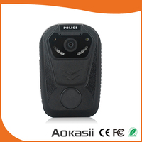 Ambarella 2.0 inch IR Night Vision 30fps GPS Location 1080P Full Hd Portable Police Body Worn Camera