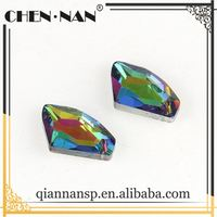 Top grade special design irregular shape rhinestone for applique
