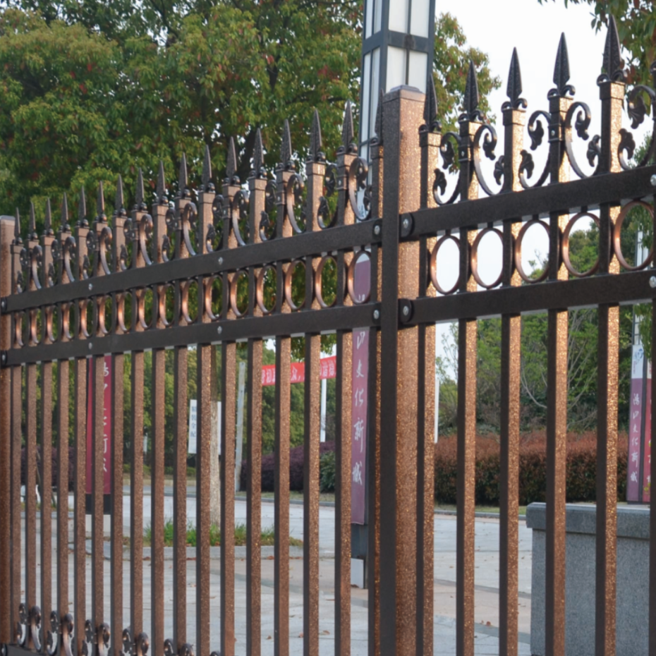 Factory supply easily assembled HDG(Hot-Dip Galvanized) steel fence