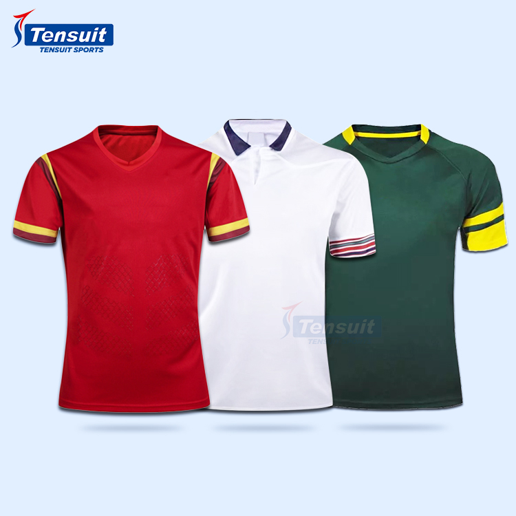 Tensuit sports wear sublimation football rugby league jerseys