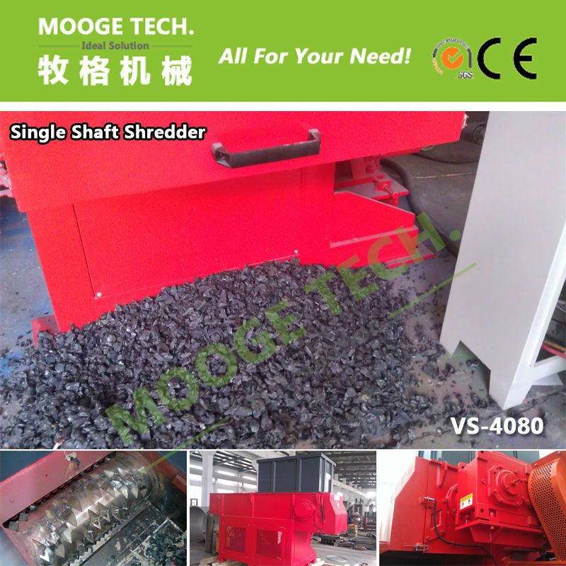Single Shaft Plastic Scrap Shredder