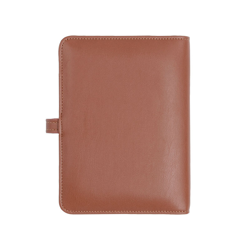 Notebooks 4000 mAh Power Bank Business with 8G USB PU Leather Notebook Chancery Supplies Business Gift Office Planner