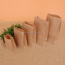 alibaba china Eco brown grocery paper food bags for lunch