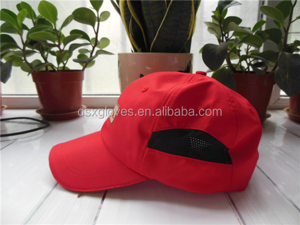 Embroidered Mesh Cap Custom Running Sports Cap