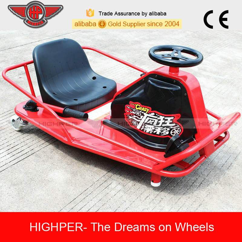 250w24v12ah Electric crazy kart for kids