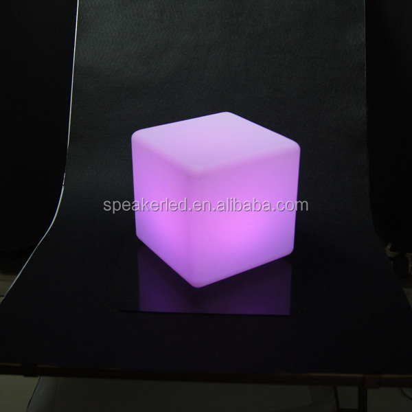 2015 LED lighting chairs glowing led furniture LED cube/square chairs