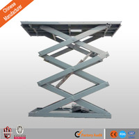 China supplier offers CE hydraulic stationary scissor lift platform warehouse cargo lift