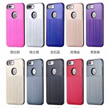 Hot selling anti-skidding hybrid brushed phone case for ZTE L7 V8 mobile phone back cover