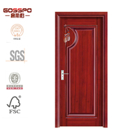 sapele doors indian main door design solid core panel wooden door