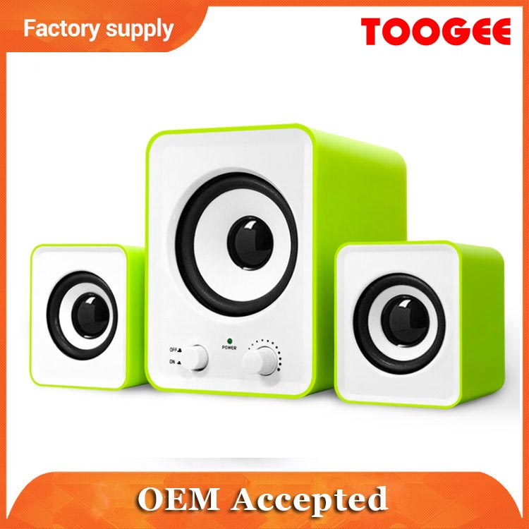 2.1 multimedia portable multi-functional speaker system with Bluetooth