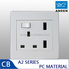 electrical switch socket PC Material Colorful BS USB Socket