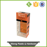 Newest products customize small plastic boxes clear