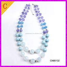 CN80132 wholesale jewelry fashion accessories chain custom plastic necklace