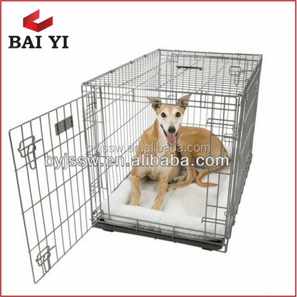 Alibaba Trade Assurance Foldable Metal Dog Cage, Wholesale Dog Kennel